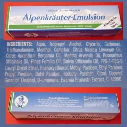 Emulsja z ziól alpejskich Alpenkrauter. Original Lacure.
