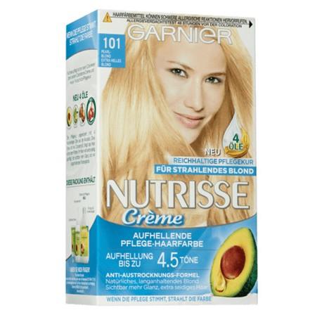 Garnier Nutrisse Creme nr 101 jasny blond. Farba do włosów.