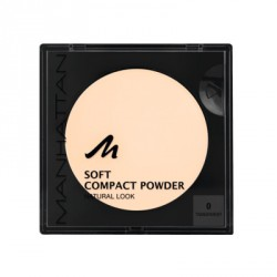 Manhattan Soft Compact Powder 0 Transparent 9g. Puder w kamieniu.