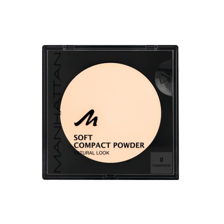 Manhattan Soft Compact Powder 0 Transparent 9g. Puder w kamieniu.