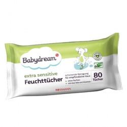 Chusteczki nawilżane BabyDream ExtraSensitive (80szt)