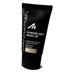 Manhattan Powder Mat Make Up 80 SAND - podkład.