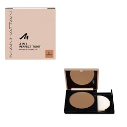Manhattan Puder 2in1. Perfect Teint. 9g. 21 SunBeige
