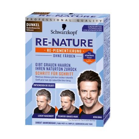 Odsiwiacz męski Schwarzkopf Re-Nature Men. Ciemny, dunkel
