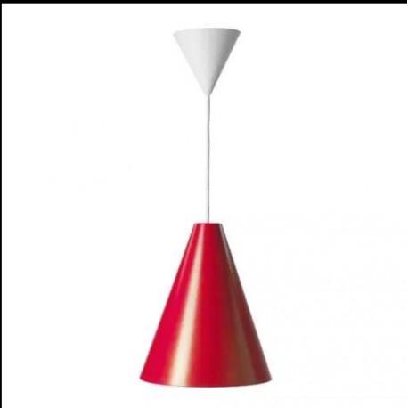 Lampa IKEA 365+ HOTTA, czerwona, nowa.