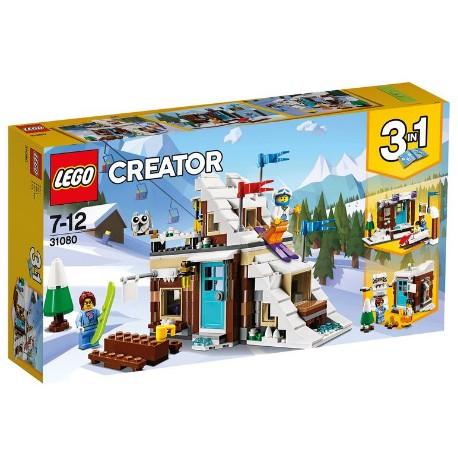 Lego creator 31080 Ferie zimowe. Nowy zestaw.