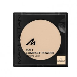 Manhattan Soft Compact Powder 1 Naturelle 9g. Puder w kamieniu