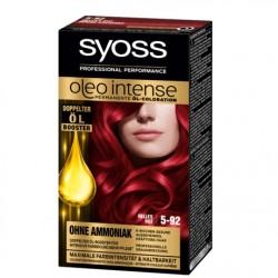 Syoss oleo intense farba 5-92 jasna czerwień.