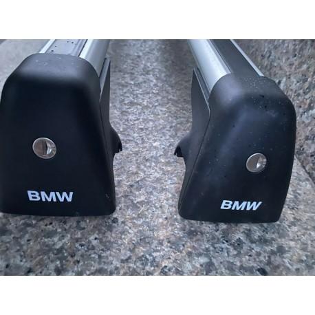 Bagażnik dachowy, belki do BMW X5 E70. Oryginalny. 82710404320.