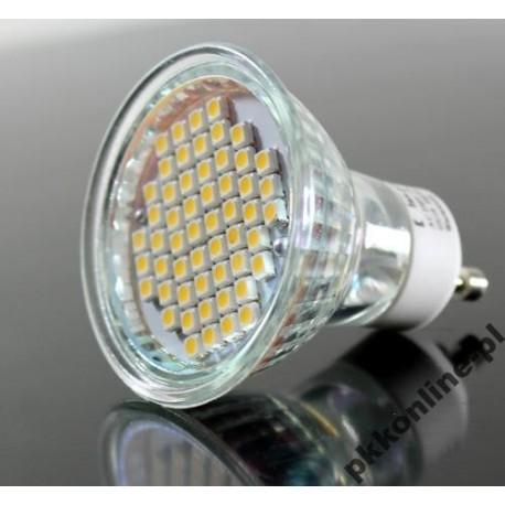 Żarówka GU10 54 LED 210 lm 3000K-3200K, 3W Sprawdź