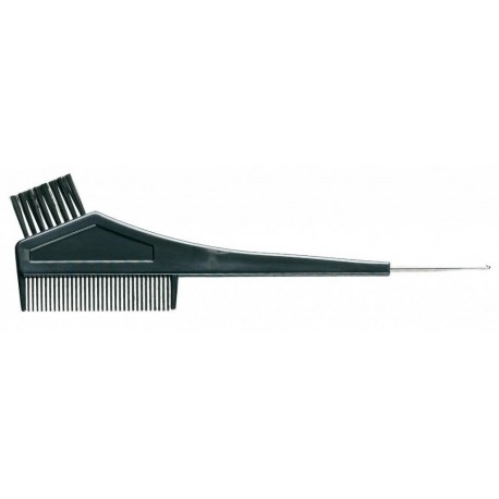 PĘDZELEK + GRZEBIEŃ do farbowania włosów 21,5x7cm