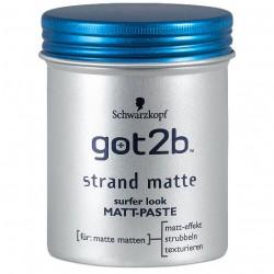 Got2b pasta matująca do włosów 100 ml