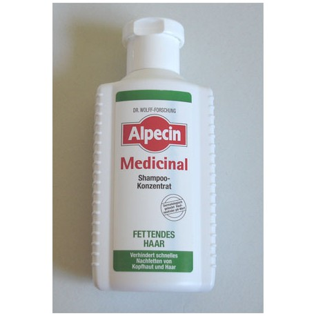 Alpecin Medicinal szampon/koncentrat włosy tłuste 200 ml