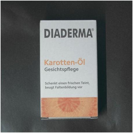 Diaderma olejek marchewkowy brązujący. Opalanie.
