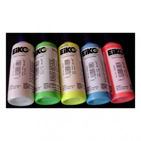 Świecąca farba fluorescencyjna UV 80ml. Wybór jednego z 6 kolorów