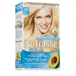 Garnier Nutrisse Creme nr 100 naturalny blond. Farba do włosów.